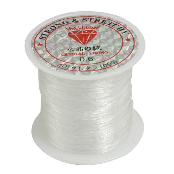 0.6mm, 53 Lbs, Translucent Nylon fishing line