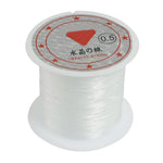 0.5mm Diameter, 41Lbs, Clear Nylon Fishing Line