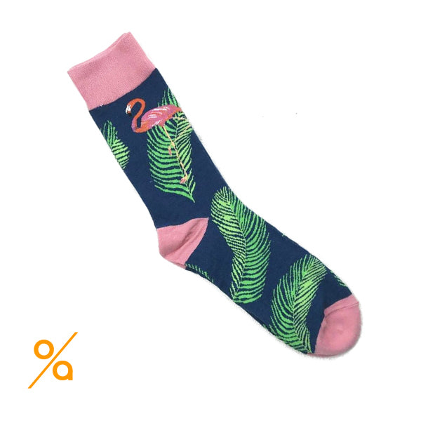 Pink Flamingo Socks