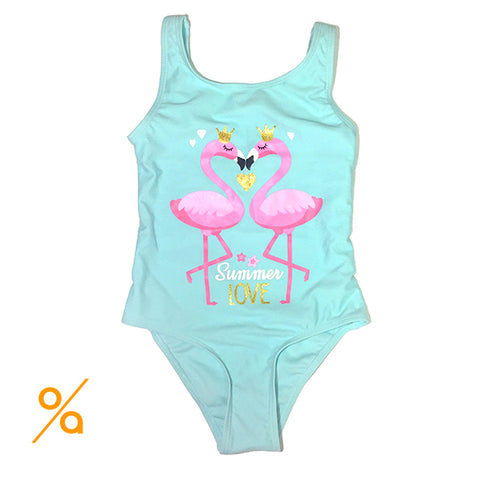 Flamingo Girls Swimsuit