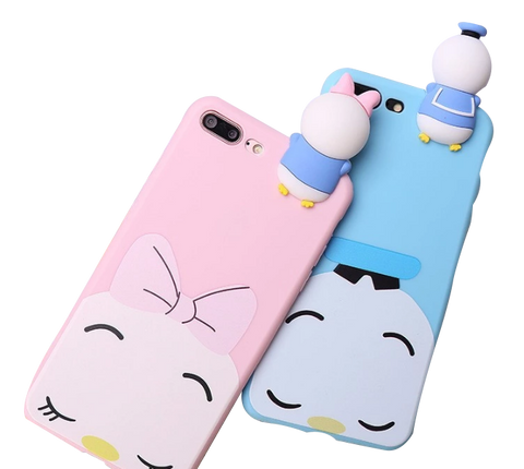 iPhone 3D Cartoon Donald Duck Cover