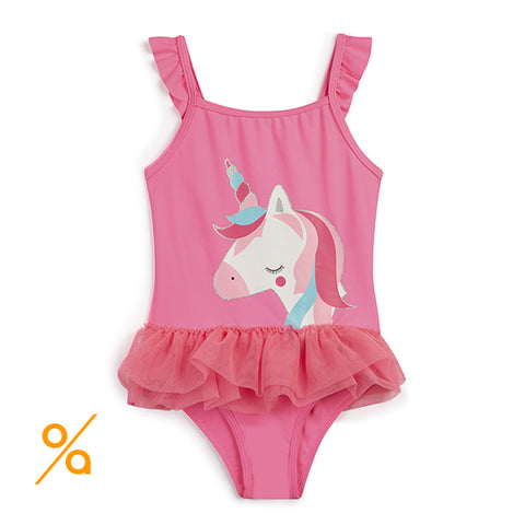 unicorn Girls Swimsuit