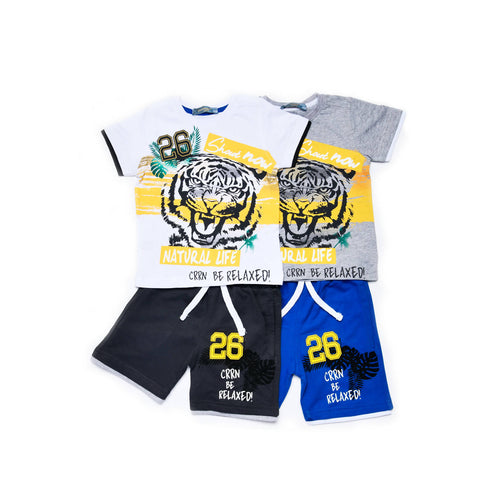 Tiger Pajama Set