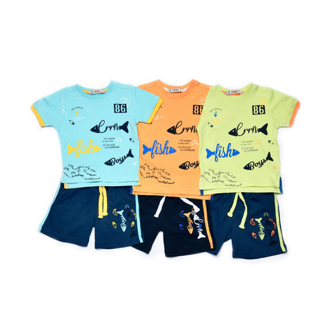 Fish Design Pajama Set