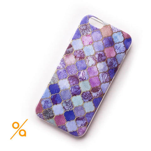 Modern Marple Design iPhone Case