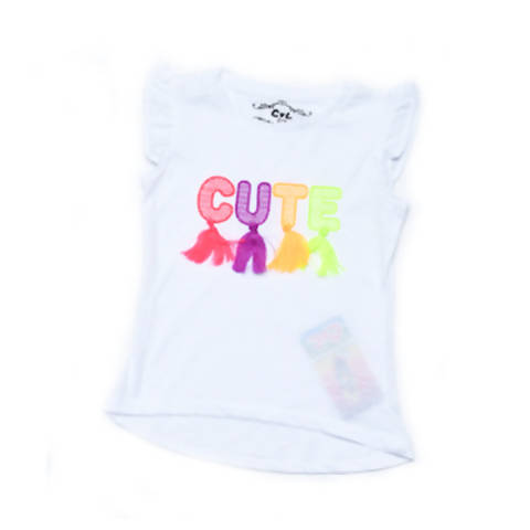 Cute Design T-Shirt for Girls