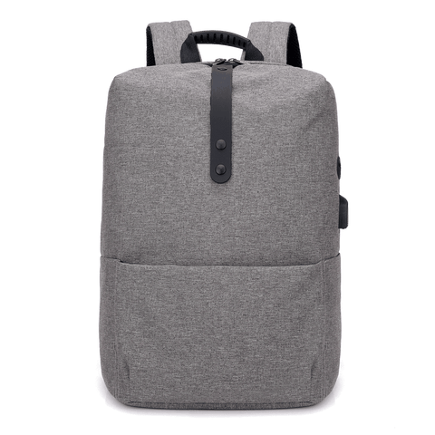 High Capacity Laptop Backpack With USB Charging Port