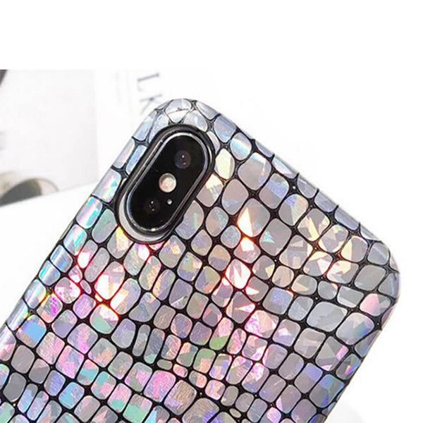Silver Glow iPhone Case