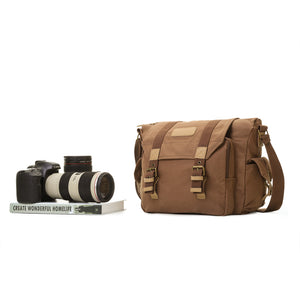 Canvas Camera Bag Shockproof Case DSLR Travel Padded Box Handbag Shoulder Bag