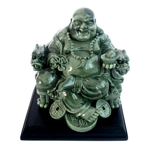Feng Shui Big Laughing Buddha of Wealth/ Happiness W9012