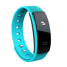 QS80 Smart Bracelet Waterproof Sports Wristband Gesture Wake-up Blood Pressure Heart Rate Monitor Sleep Monitor Fitness Tracker Pedometer for Android 4.3 IOS 7.0