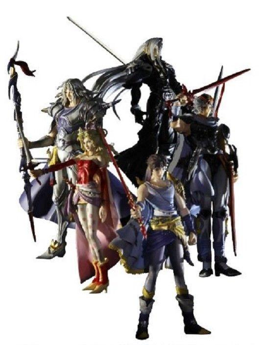 Square Enix DISSIDIA Final Fantasy VI Trading Arts figure vol. 2 Japan version