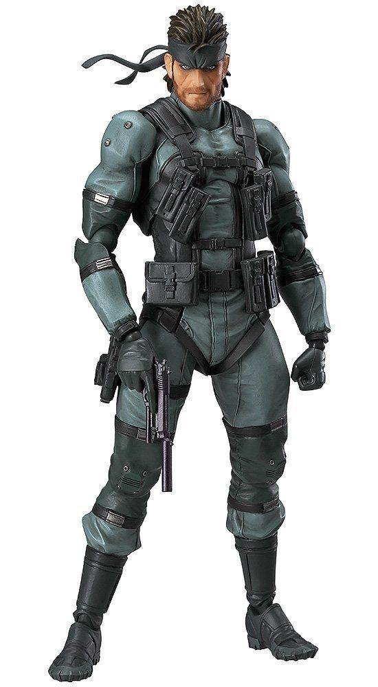 Max Factory figma 243 Metal Gear Solid 2 Sons of Liberty Solid Snake MGS2 ver.