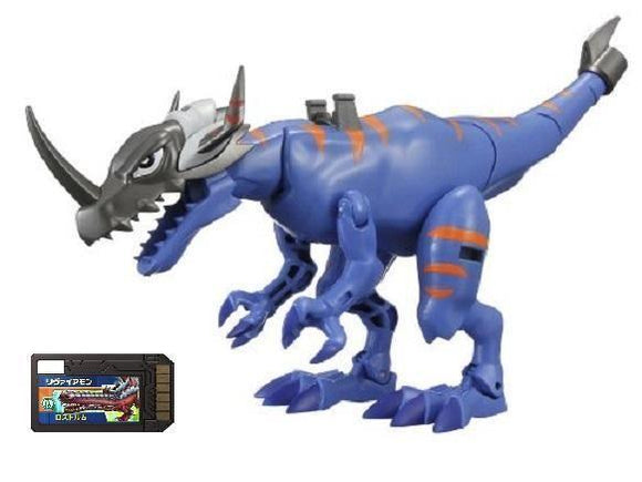 Bandai Digimon Digital Monsters Xros Wars Digi-Fusion 03 Greymon action figure