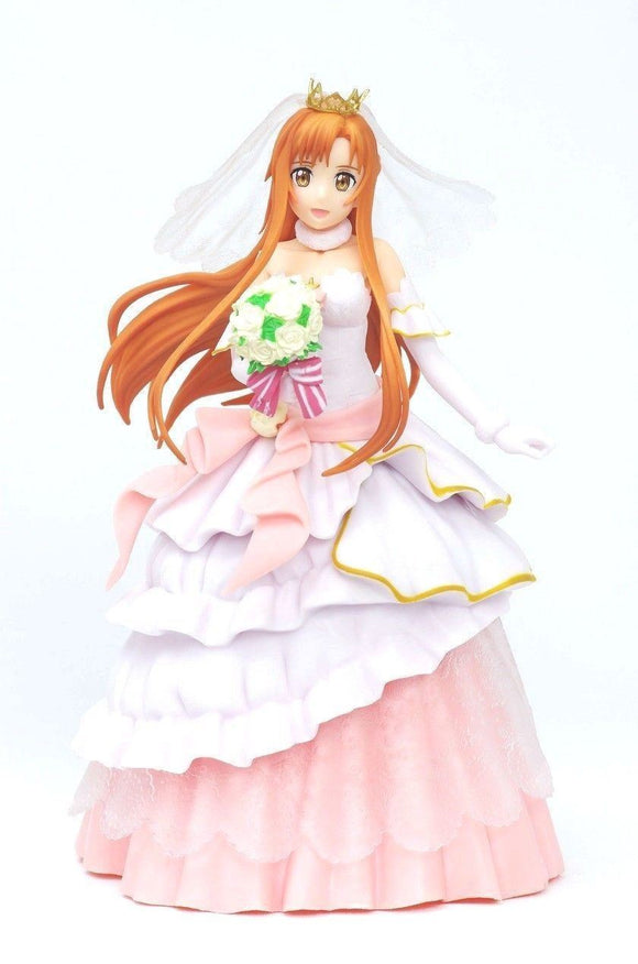 Banpresto EXQ Sword Art Online SAO Code Register Asuna Yuuki Wedding PVC figure