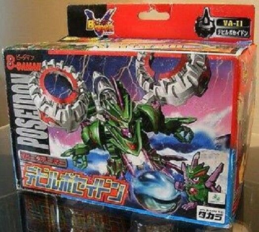 Takara 1999 Battle Bomberman Super B-Daman VA-11 Devil Poseidon