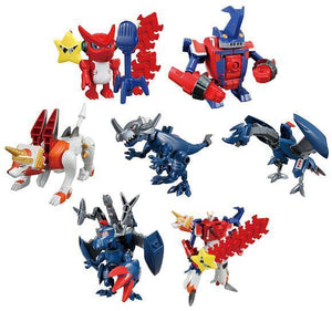Bandai Digimon Digital Monsters Xros Wars Digi-fusion Battle Trading figure set