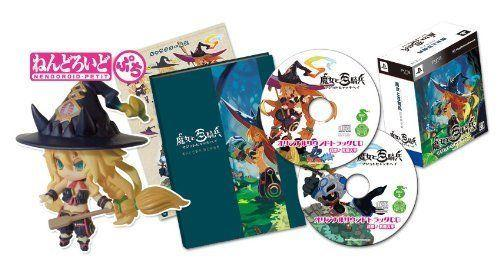 Nippon Ichi The Witch and The Hundred Knight PS3 game with Nendoroid Petit
