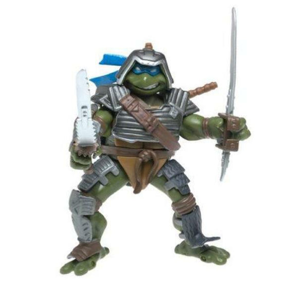 Playmates TMNT 2003 Teenage Mutant Ninja Turtles Fightin' Gear Leo Leonardo NIP - DREAM Playhouse
