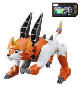 Bandai Digimon Digital Monsters Xros Wars Digi-Fusion 04 Dorulumon action figure