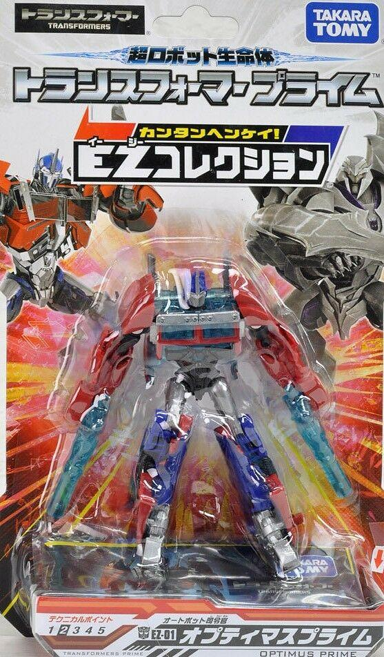 Takara TOMY Transformers EZ-01 Collection Optimus Prime Commander Class figure