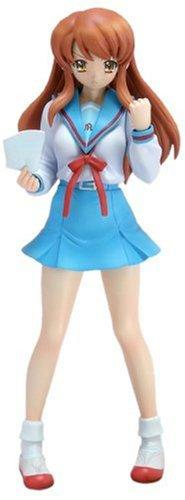 Wave TFC The Melancholy of Haruhi Suzumiya Asahina Mikuru School Uniform Ver. 1/10 PVC figure