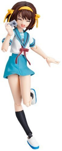 Max Factory Figma 034 The Melancholy Of Haruhi Suzumiya Summer Uniform Ver.