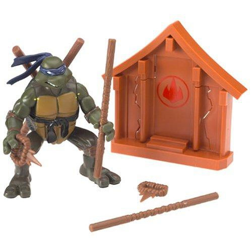 Playmates Tmnt 2004 Teenage Mutant Ninja Turtles Action Donatello Don Figure - Action Figure