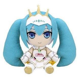 Gift Nendoroid Plushie Vocaloid Hatsune Miku Racing 2015 Stuffed toy-DREAM Playhouse