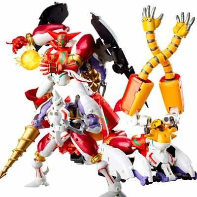 FREEing Dynamic Change Getter Robo Armageddon Shin Getter Robo Sentinel D4Toys ver. action figure-DREAM Playhouse