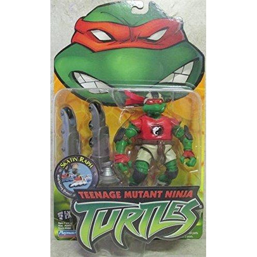 Playmates Tmnt 2003 Teenage Mutant Ninja Turtles Skatin Raph Raphael Action Figure - Action Figure