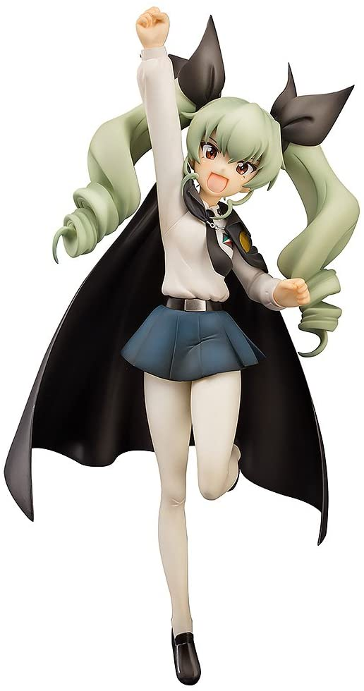 Aquamarine Girls und Panzer Anchovy Anzio Girl's high school ver 1/8 PVC figure