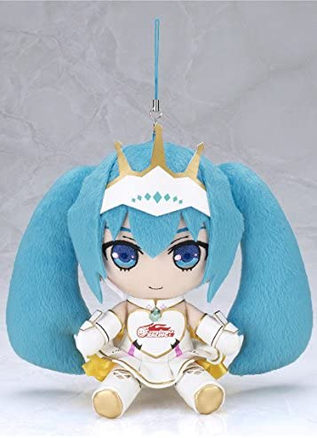 Gift Nendoroid Plushie Vocaloid Racing Miku 2015 ver. Phone strap Stuffed toy