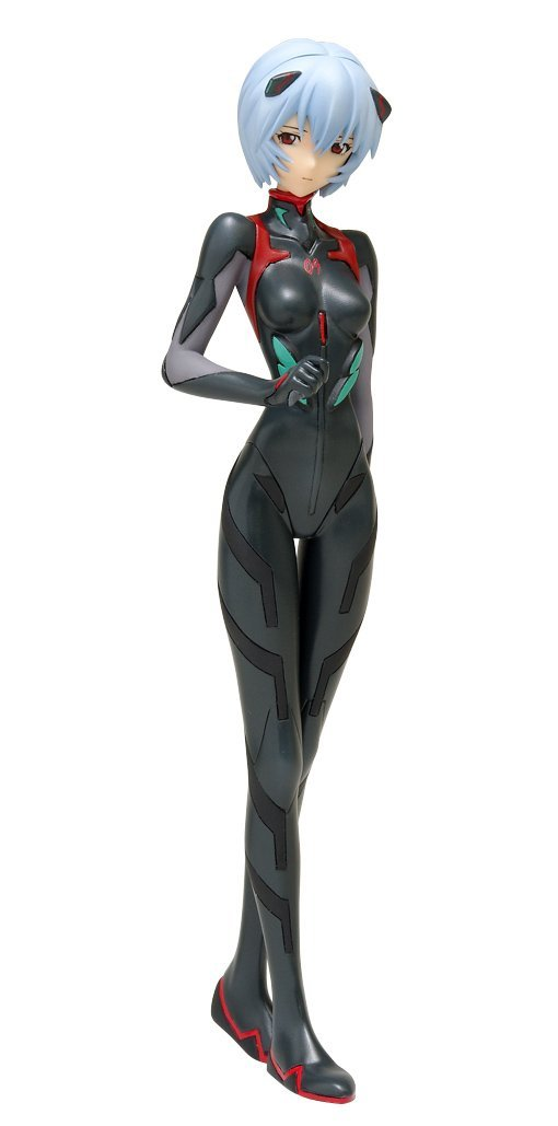 Wave Treasure Figure Collection Neon Genesis Evangelion Q Ayanami Rei Plug Suit Ver. 1/10 PVC figure-DREAM Playhouse
