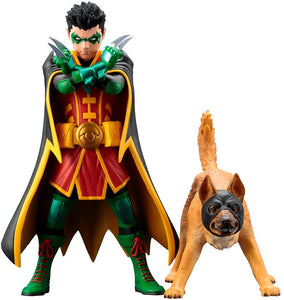 Kotobukiya ARTFX+ DC Comics Batman Robin & Ace the Bat-Hound 1/10 PVC figure