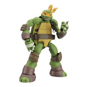 Kaiyodo Revoltech Tmnt Teenage Mutant Ninja Turtles Mike Michelangelo Action Figure