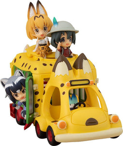 KADOKAWA Kemono Friends Japari Bus incl. Serval Kaban Common Raccoon and Fennec Fox (Pre-order)-DREAM Playhouse