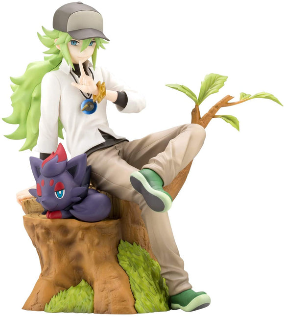 Kotobukiya ArtFX J Pokemon Natural N with Zorua 1/8 PVC figure