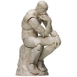 Max Factory Freeing Figma Sp-056B The Table Museum Thinker Plaster Ver.