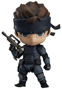 Good Smile Nendoroid 447 METAL GEAR SOLID Solid Snake (Pre-order)-DREAM Playhouse
