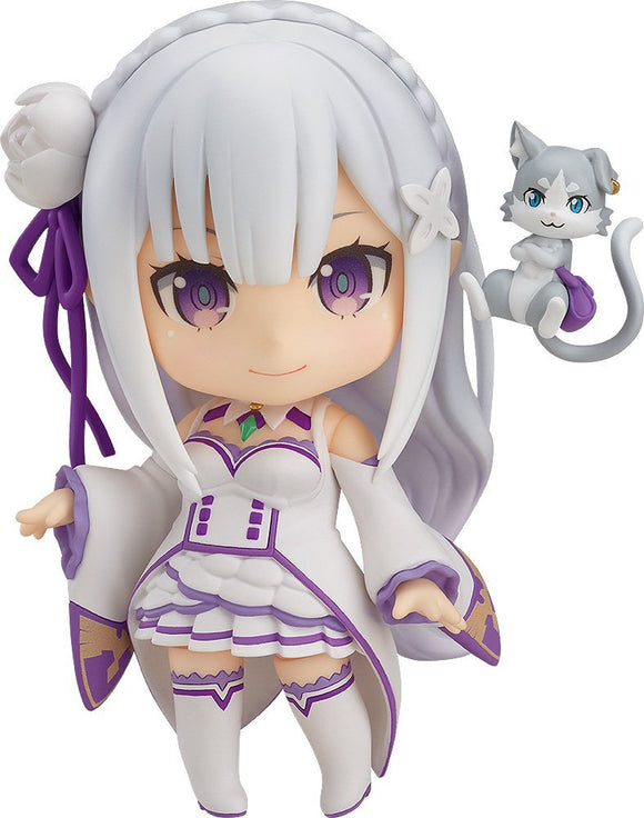 Good Smile Nendoroid 751 Re:zero Starting Life In Another World Emilia