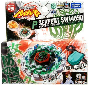 Takara Tomy 2009 Beyblade Metal Fight Fusion Bb-69 Poison Serpent Sw145Sd Starter Set - Misc