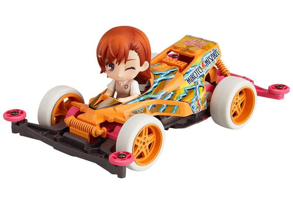 Good Smile Nendoroid Petite x Mini 4WD Mikoto Misaka drives Thunder Shot Special-DREAM Playhouse