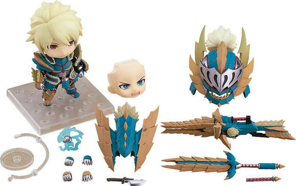 Good Smile Nendoroid 1421-DX MONSTER HUNTER Male Zinogre Alpha Armor DX