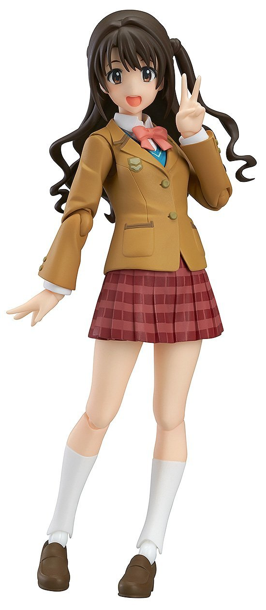 Max Factory Figma 255 The Idolmaster Cinderella Girls Uzuki Shimamura Project Ver