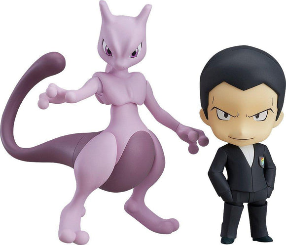 Good Smile Nendoroid 875 Pocket Monster Pokemon Giovanni Sakaki & Mewtwo-DREAM Playhouse