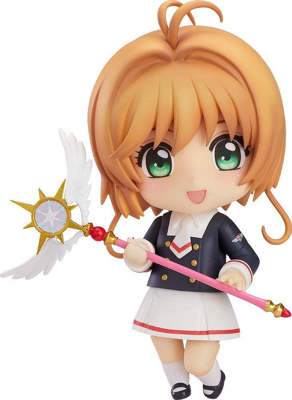 Good Smile Nendoroid 918 Cardcaptor Sakura Kinomoto Tomoeda Junior High Uniform Ver. (Pre-order)-DREAM Playhouse