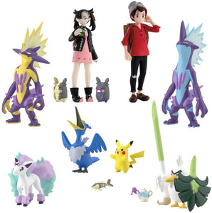 Bandai Pocket Monster Pokemon Masaru and Mary 1/20 Scale World Galar Set 2 - DREAM Playhouse