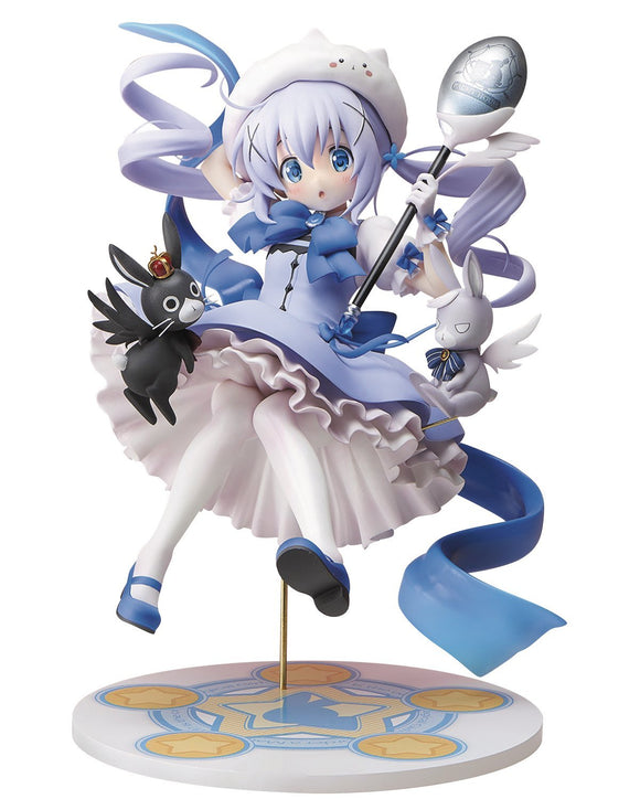 Stronger Is the Order a Rabbit?? Chino Magical girl ver. 1/7 PVC figure Anime University Coop-DREAM Playhouse