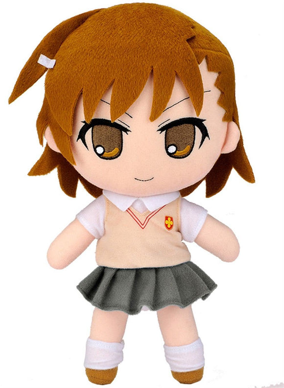 Gift Nendoroid Plushie A Certain Magical Index II Misaka Mikoto Stuffed Toy Toaru Majutsu no Index-DREAM Playhouse
